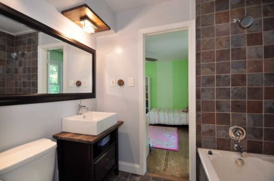 Jack  Jill Bathroom on 2305 Fairoaks Road   Sagamore Properties